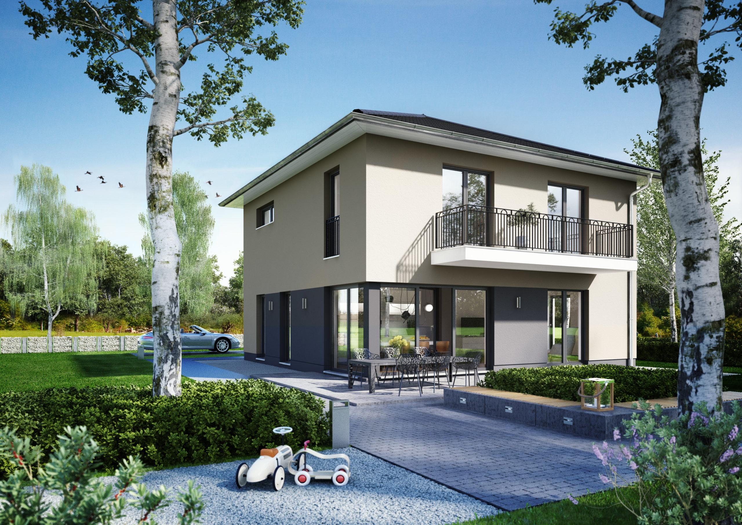 Nieuwbouw Duitsland Stadsvilla